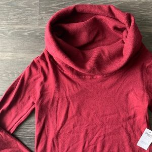 Charlotte Russe Cowl Neck Tunic Sweater